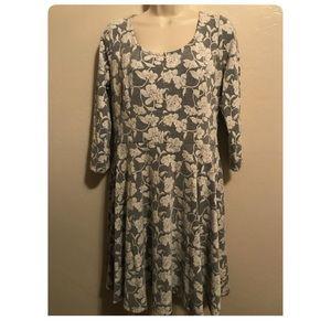 Lauren Conrad long sleeve dress